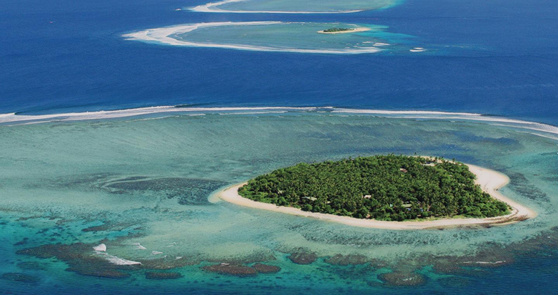 a beautiful island
